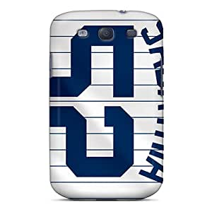 Scratch Protection Cell-phone Hard Covers For Samsung Galaxy S3 With Custom Fashion New York Yankees Pattern AlainTanielian