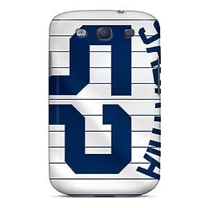 JasonPelletier Samsung Galaxy S3 Durable Hard Phone Cases Support Personal Customs Fashion New York Yankees Series [jql15270jlOG]