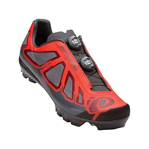 Pearl Izumi Men's X-Project 1.0 MR/B Cycling Shoe, Mandarin Red/Black, 43 EU/9.3 C US