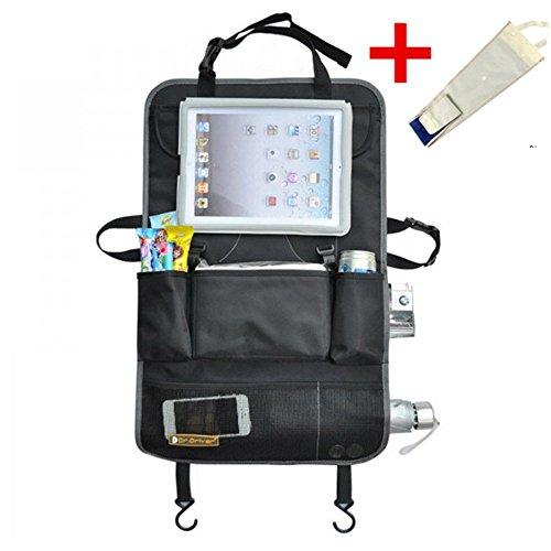 Auto-Rücksitztasche Rücksitz-Organizer UtensilienTasche Halter für DVD Players Tablets Multimedia Kinderwagen Organiser
