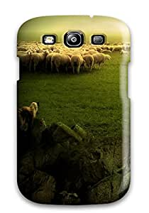 New Style Tpu S3 Protective Case Cover/ Galaxy Case - Sheep