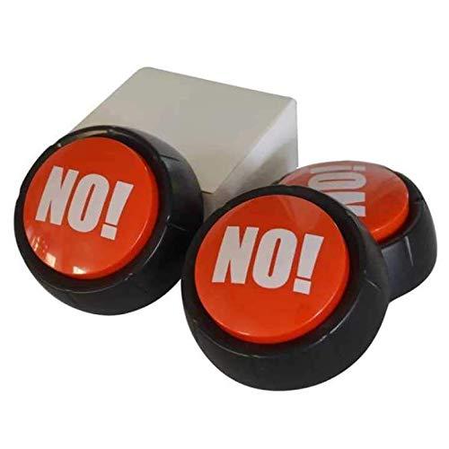 geek geek The Big Red NO! NO Sound Button Desktop Sound Toy Stress ()