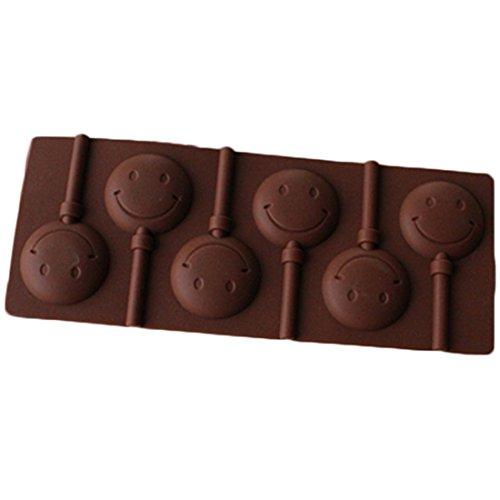 Silicon Chocolate Smiley Face - 9