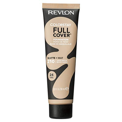 Revlon ColorStay Full Cover Foundation, Sand Beige, 1.0 Fluid Ounce