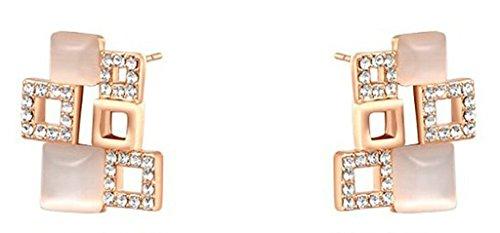 9ct gold diamond cluster dress ring - 6