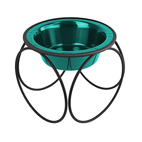 Platinum Pets Single Olympic Diner Feeder with