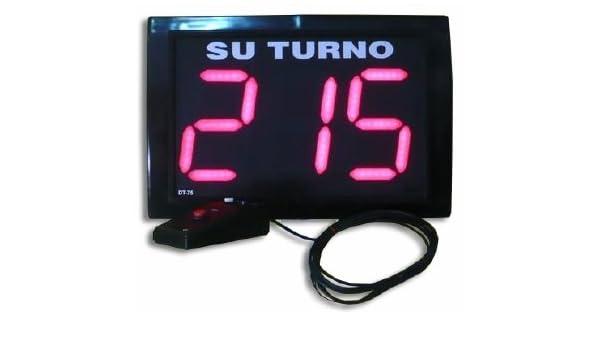 ST1 / Indicador de Turno / Su Turno / Turnometro / Turnomatic / Gestor de Turnos / Pasaturnos: Amazon.es: Electrónica