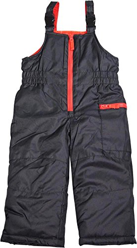 Carter's - Toddler Boys Bib Snowpant, Black 40012-3T-FBA