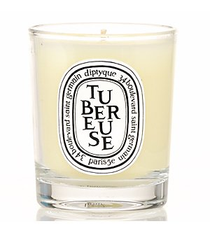 Tubereuse (Tuberose) Mini Candle 70 g by Diptyque (Candle Tuberose Scented)