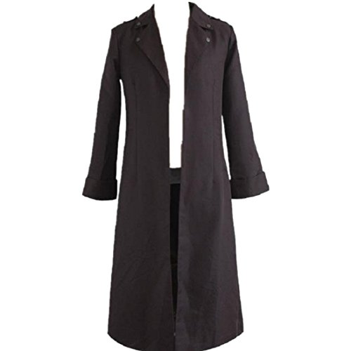 Shingeki No Kyojin Rivaille Costume (Shingeki no Kyojin Attack on Titan Eren Jaeger Rivaille New Long Coat cosplay costume)