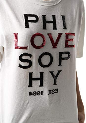 PHILOSOPHY Luxury Fashion Donna A070107450001 Bianco Cotone T-Shirt   Primavera-Estate 20