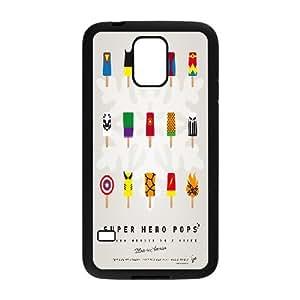 Samsung Galaxy S5 Case, my SUPERHERO ICE POP UNIVERS Case for Samsung Galaxy S5 {Black}