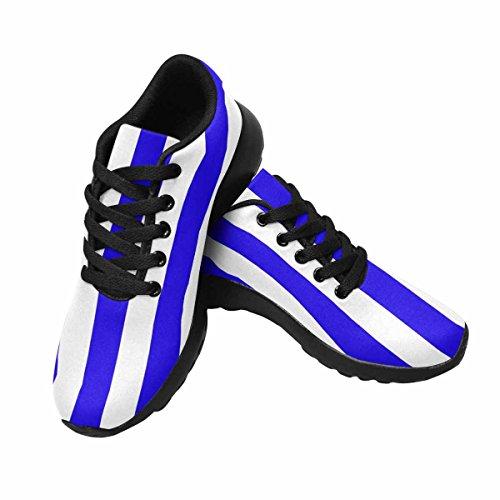 Chaussures De Course Trailprint Jogging Footing Athlétisme Femmes Chaussures De Sport Baskets Marines Verticales À Larges Rayures, Sailorss Singlet Multi 1