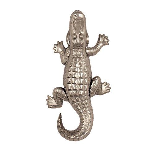 Alligator Door Knocker - Nickel Silver (Standard ()