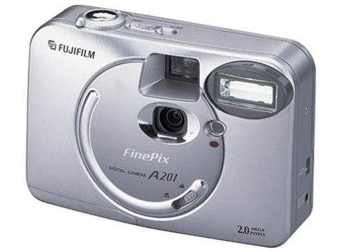 Fujifilm FinePix A201 2.1MP Digital - Camcorder Pix Movie