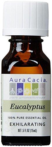 Price comparison product image Aura Cacia 100% Pure Essential Oils - Eucalyptus - 0.5 oz