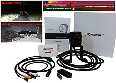 SPEEDIR Thermal Imaging Camera Night Vision Digital Heat Sensor Infrared IR Automobile Driving Assistant System
