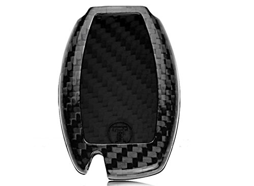 Eppar Carbon Fiber Key Box Cover for MERCEDES BENZ C-Class Coupe C205 2016-2017 C180 C200 C220 C250 C300 C350 C400