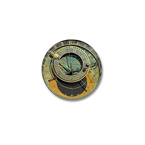 CafePress Prague Astronomy Clock Mini Button 1