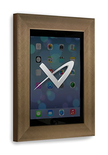 VidaMount iPad 2/3 / 4 On Wall Metal Frame - Florentine Bronze (Used Showcases For Sale In New York)