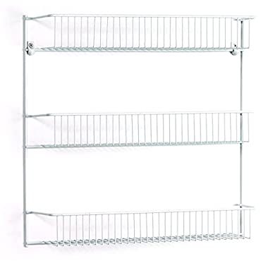 ClosetMaid 8022 3-Tier Wall Rack, 18-Inch Wide