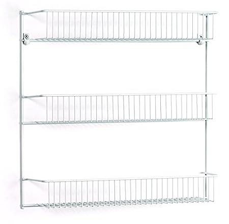 ClosetMaid 8022 3-Tier Wall Rack, 18-Inch Wide