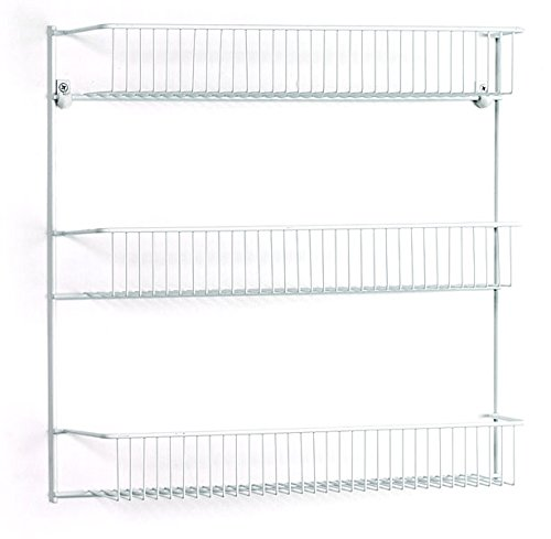Review ClosetMaid 8022 3-Tier Wall Rack, 18-Inch Wide By ClosetMaid by ClosetMaid