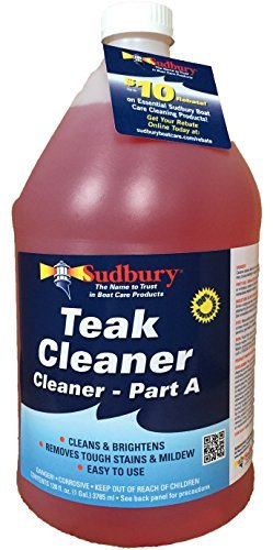 Sudbury 861G Teak Cleaner, Part A - 1 Gallon by Sudbury