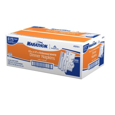 Marathon Dinner Napkins - 1,200 Ct. -