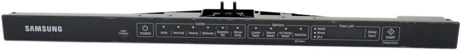 Samsung DD82-01336B Dishwasher Control Panel Assembly Genuine Original Equipment Manufacturer (OEM) Part