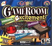 The Best Game Room Excitement- - Game Room Excitement brings the fun of the arcade home to your PC! All of your favorite games are gathered together for the whole family to enjoy! Test your coordination skills as you shoot the puck past your opponent in an ultra-realistic game of Air Hockey. Strap on your kneepads for some fast kicking fun in Foosball, or wax up the board for some competitive Shuffleboard. Game Room Excitement brings the fun of the arcade home to your PC!