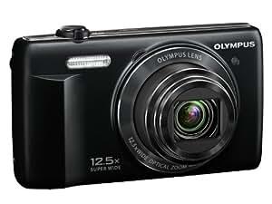 """Olympus VR-370 - Cámara compacta de 16 Mp (pantalla de 3"""", zoom óptico 12.5x, estabilizador de imagen óptico), color negro"""