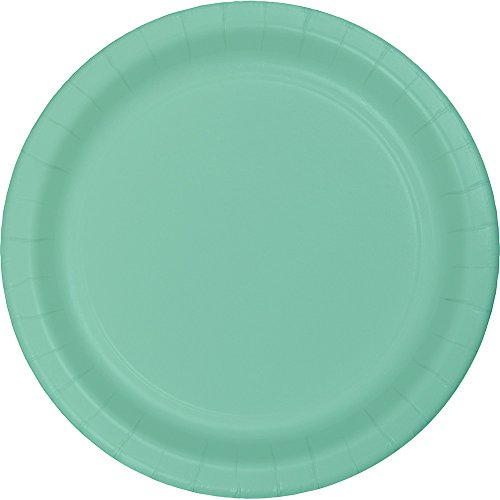 Creative Converting 324477 Touch of Color 96 Count Dessert/Small Paper Plates, Fresh Mint from Creative Converting