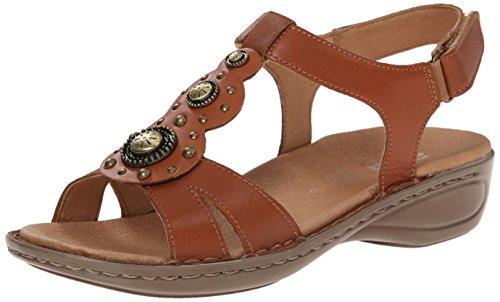 ARA Women's Hudson Saddle Leather Sandal 38 (US Women's 7.5) M ()