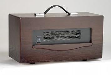 Dynamic 1,500 Watt Portable Electric Infrared Cabinet Heater