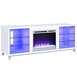 Lumina Fireplace TV Stand for TVs up to 70
