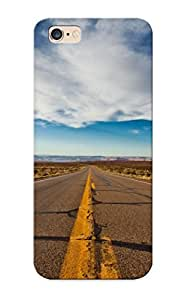 TYH - Hot Clouds Landscapes Desert Highway Roads Infinity Skyscapes Stripes First Grade Tpu Phone Case For Iphone 6 4.7 Case Cover phone case
