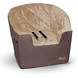 "K&H Pet Products Bucket Booster Pet Seat Large Tan 14.5"" x 24"""
