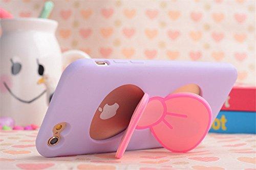 iPhone Personality Bowknot Kickstand Compatible