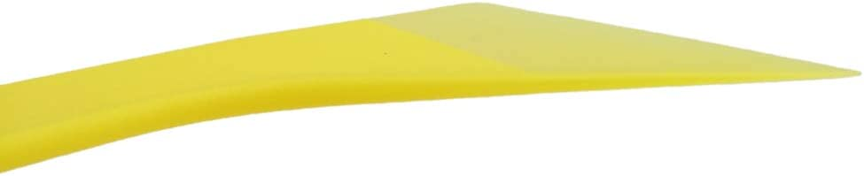Wallpaper Install CARTINTS 2 Pack Yellow Mini Plastic Scrapers Auto Body Filler Spreader Drywall Scrapers Wallpaper Smoother Vinyl Wrap Squeegee Ideal for Window Tint Decal Removing Vinyl Wrap