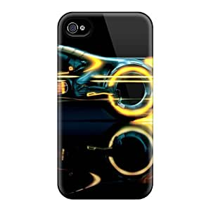 Iphone Case - Tpu Case Protective For Iphone 4/4s- Tron Legacy Lightcycle
