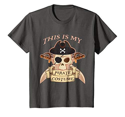 Kids Pirate Costume Shirt Halloween Last Minute Idea