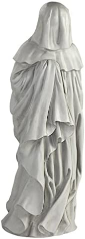 Design Toscano NG31566 Mourning French Pleurant Hooded Figure Statue