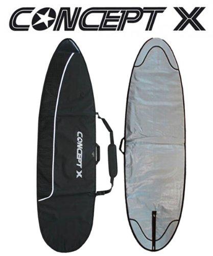 MADNESS Boardbag PE Silver 9.2 Funboard Daybag Bag Cover Tasche Wellenreiter