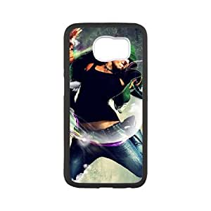 feel the music Samsung Galaxy S6 Cell Phone Case Black DIY Ornaments xxy002-9211837