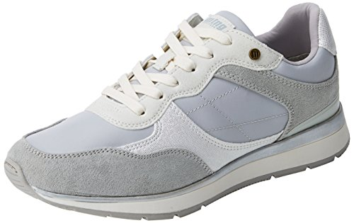 MTNG Nanami, Zapatillas de Deporte Para Mujer Gris (Soft Grisnylonka Grisrato Blanco)