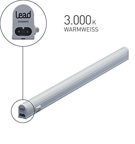 LED Unterbauleuchte erweiterbar 83,6cm | LED Lichtleiste 13W | Warmweiß 998 Lumen | inkl. Zubehör