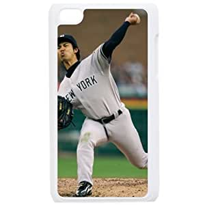 MLB IPod Touch 4 White New York Yankees cell phone cases&Gift Holiday&Christmas Gifts NBGH6C9123968