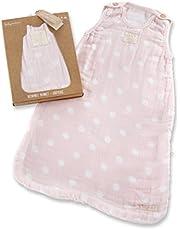 Baby Aspen Sweet Snuggles Muslin Wearable Blanket, Pink