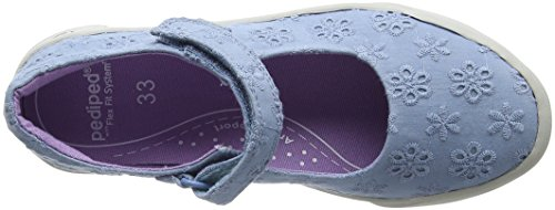 sky Mary Eyelet Pediped Blue Janes Barbara Fille wXrqUqO5